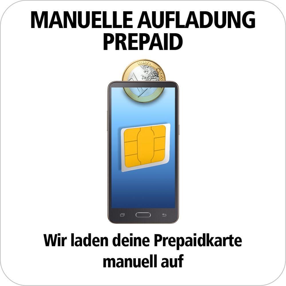 Aufladung Prepaid Karte sicher und einfach
